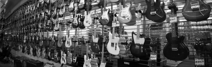 Wall Of Guitars Guitars Etc Longmont CO
