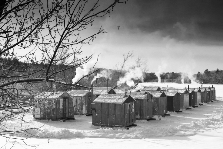 Smelting Shacks on the Cathance River_123017