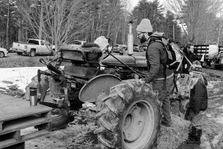 riding the tractor bw_donald groves_32518